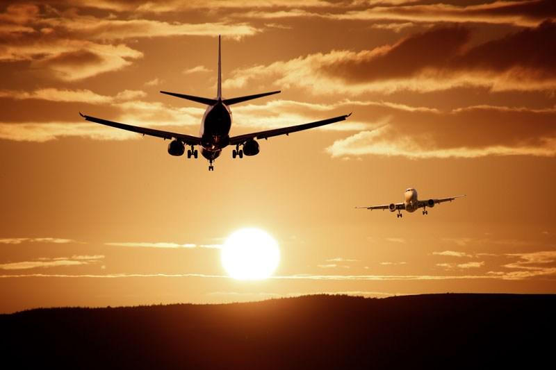 Gesundheitsrisiko Flugzeug